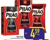 Oferta de Café Pilão 250g por R$4,59