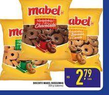 Oferta de Biscoitos Mabel rosquinhas pacote 350 g por R$2,79