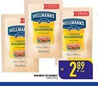Oferta de Maionese Hellmann's 200 gr por R$2,89