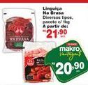 Oferta de Linguiça Nabrasa pacote 1 kg por R$20,9