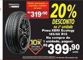 Oferta de Pneus Xbri ecology 185/65 R15 por R$399,9