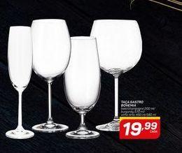 Oferta de Taça de vinho Gastro Bohemia por R$19,99
