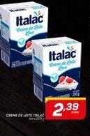 Oferta de Cremes de leite Italac 200 ml por R$2,39