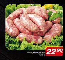 Oferta de LINGUIÇA P/ CHURRASCO PERDIGÃO cong. kg por R$22,9