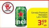 Oferta de Cerveja Premium Heineken Lata 350ml por R$3,69