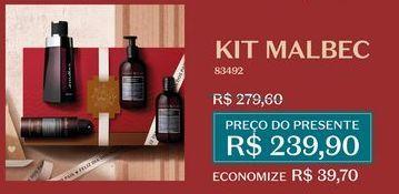 Oferta de Kit Malbec por R$239,9