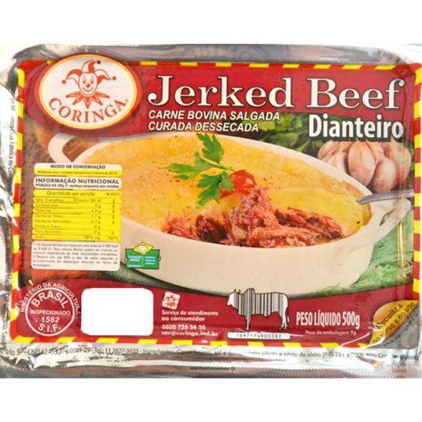 Oferta de Carne Seca Coringa Dianteiro Embalagem 500G por R$29,9