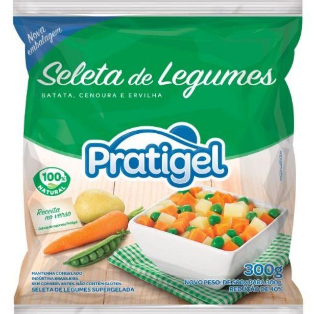 Oferta de Seleta Legumes Pratigel 300G por R$4,59
