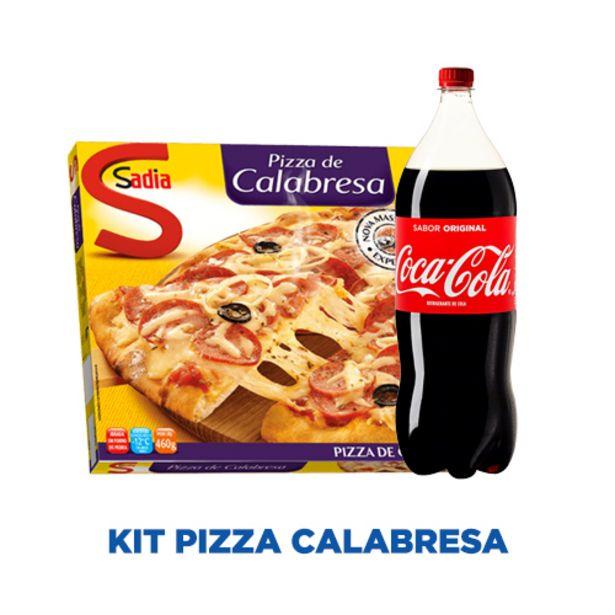 Oferta de KIT PIZZA CALABRESA por R$24,49
