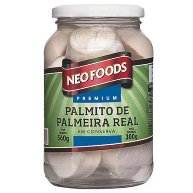 Oferta de Palmito Palmeira Real Neo Foods Rodela 300G por R$9,59