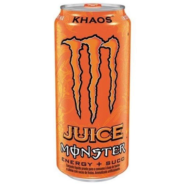 Oferta de Energético Monster Khaos Lata 473Ml por R$6,89
