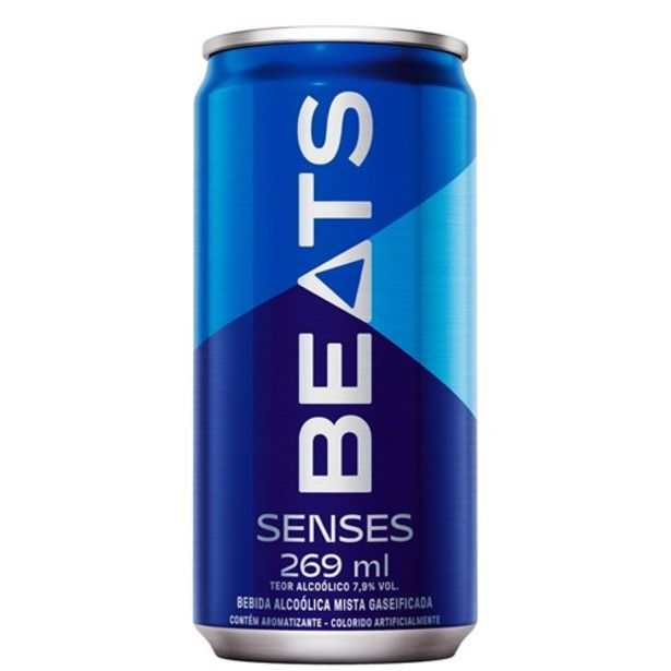 Oferta de Bebida Skol Beats Senses 269Ml por R$4,39
