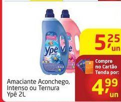 Oferta de Amaciante Aconchego, Intenso ou Ternura Ypê 2L por R$4,99