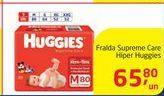 Oferta de Fralda Supreme Care Hiper Huggies por R$65,8