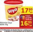 Oferta de Maionese Soya Balde 3kg por R$16,91