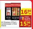 Oferta de Kit Shampoo 375ml + Condicionador 170ml Elseve por R$15,96