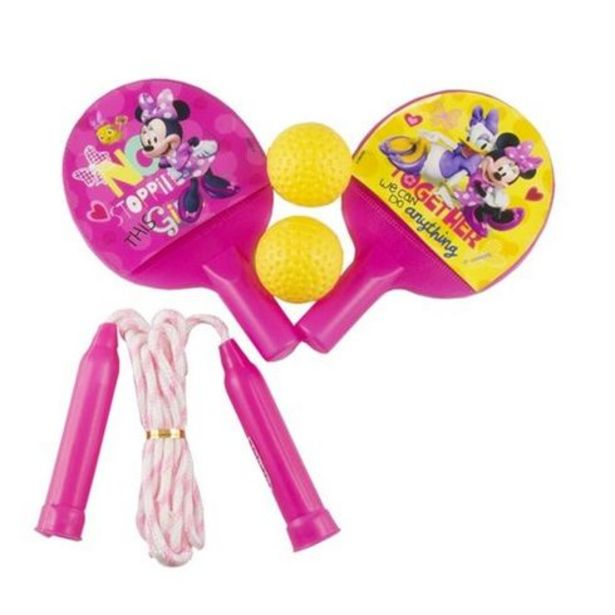 Oferta de Ping pong e pula corda da Minnie Etitoys por R$16,99