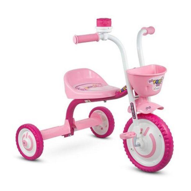 Oferta de Triciclo you 3 girls Nathor por R$159,99