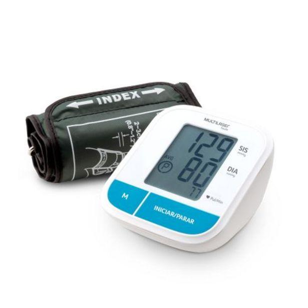 Oferta de Monitor De Pressão Arterial de Braço - Multilaser Saúde - HC206OUT [Reembalado] por R$179,99