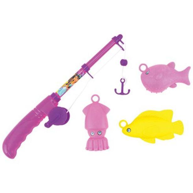 Oferta de Kit pescaria no tubo princesas Mabel por R$14,99
