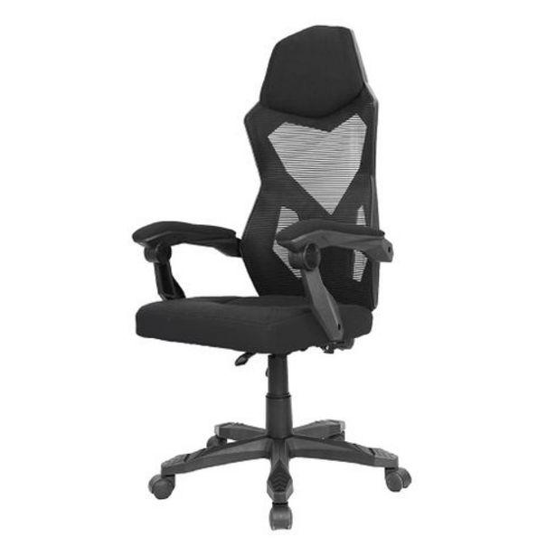 Oferta de Cadeira de Escritorio Relax Preta Multilaser - GA211 por R$862,9