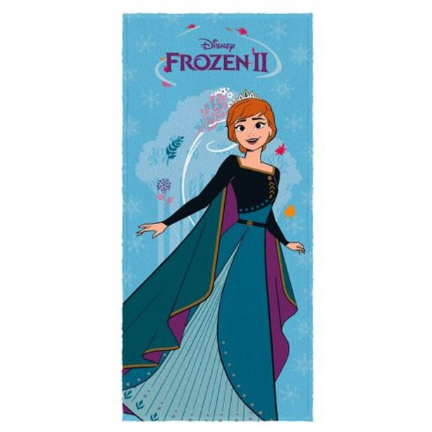 Oferta de Toalha de banho infantil 60cmx1,20m Frozen Lepper por R$29,99