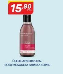 Oferta de Óleo corporal rosa mosqueta farmax 100 ml por R$15,9