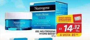 Oferta de Creme facial Neutrogena Hidro boost 50 gr por R$14,32
