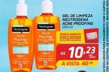 Oferta de Limpeza facial Neutrogena acne proofing 200 ml por R$10,23