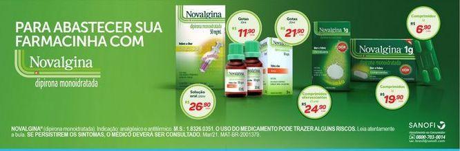Oferta de Medicamentos novalgina por