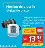 Oferta de Medidor de pressão digital de braço por R$13,33