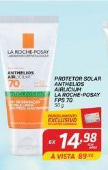 Oferta de Protetor solar La Roche-Posay anhelios airlicium FPS 70 50 gr por R$14,98