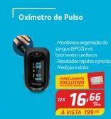 Oferta de Oxímetro de pulso por R$16,66