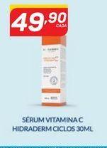 Oferta de Sérum facial vitamina C hidrsderm ciclos 30 ml por R$49,9