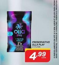 Oferta de Preservativos Olla por R$4,99