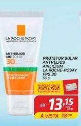 Oferta de Protetor solar La Roche-Posay anthelios airclicium FPS 30 50 gr por R$13,15