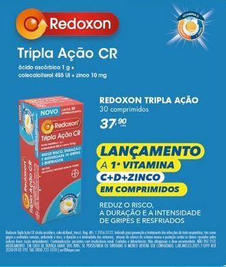 Oferta de Vitaminas Redoxon tripla  ação CR  por