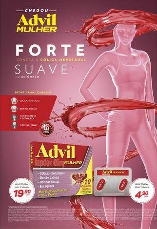 Oferta de Medicamentos advil forte 2 unidades por R$4,9