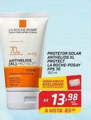 Oferta de Protetor solar La Roche-Posay anthelios XL protect FPS 70 120 ml por R$13,98