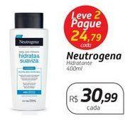 Oferta de Hidratante Neutrogena por R$30,99