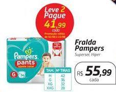 Oferta de Fralda Pampers por R$55,99