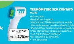 Oferta de Termômetro sem contato Multilaser por R$179,99