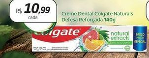 Oferta de Creme dental Colgate Naturals Defesa Reforçada por R$10,99