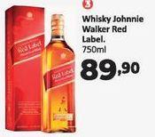 Oferta de Whisky escocês Johnnie Walker 750 ml por R$89,9