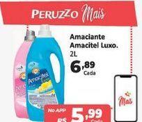 Oferta de Amaciante Amacitel luxo 2 L por R$6,89