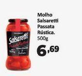 Oferta de Molho de tomate Salsaretti passata rustica 500 gr por R$6,69