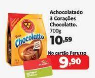 Oferta de Achocolatado 3 Corações chocolatto  por R$10,59