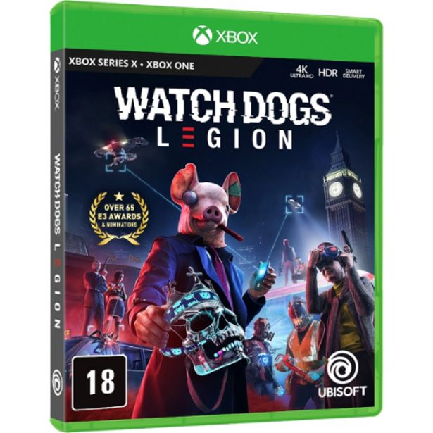 Oferta de Jogo Xbox One Watch Dogs Legion por R$99