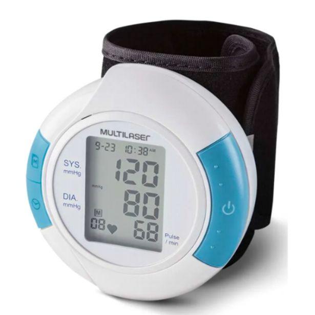 Oferta de Monitor pressão arterial de pulso hc075 por R$99