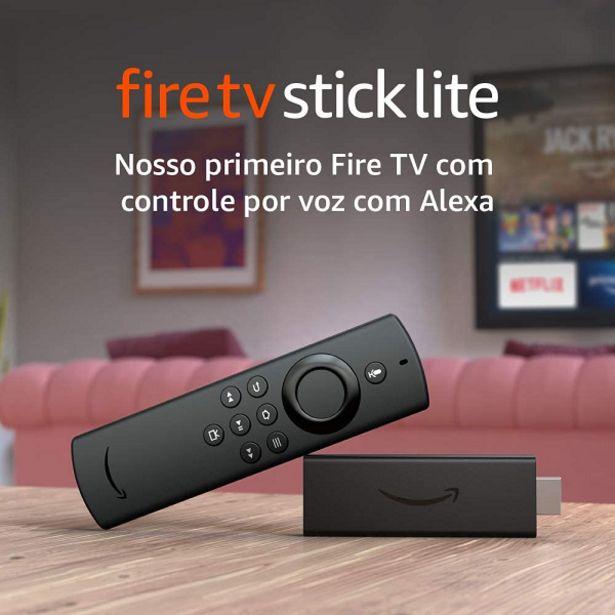 Oferta de Amazon Fire TV Stick Lite B07ZZW745X por R$279